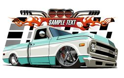 Cartoon Lowrider Stock Photography