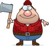 Cartoon Lumberjack Axe Stock Photos