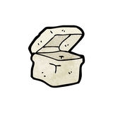 Cartoon lunch box Royalty Free Stock Photo