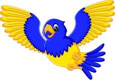 Cartoon macaw Stock Image