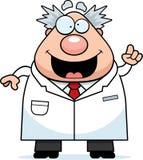Cartoon Mad Scientist Idea Stock Photos