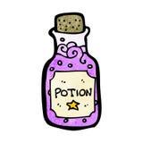 cartoon magic potion royalty free illustration