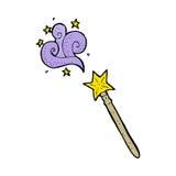 Cartoon magic wand Royalty Free Stock Photography