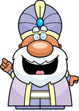 Cartoon Maharaja Idea Royalty Free Stock Image