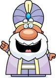 Cartoon Maharaja Idea Royalty Free Stock Image
