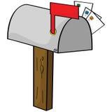 Cartoon mailbox Stock Photo