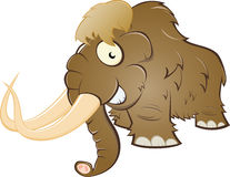 Cartoon mammoth Royalty Free Stock Photo