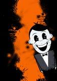 Cartoon man with bow tie Stock Photo