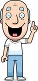 Cartoon Man Idea Stock Images
