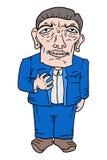 Cartoon man illustration Royalty Free Stock Photos