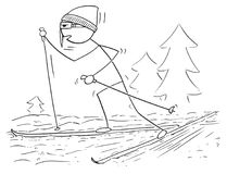 cartoon man ski stock illustrations 1 618 cartoon man ski stock Ski Emoji cartoon of man male skiing skating cartoon stick man drawing illustration of male cross country