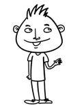 Cartoon man Royalty Free Stock Photography