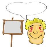 Cartoon man. Vector illustration of a cartoon man vector illustration
