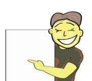 Cartoon man. Vector illustration of a cartoon man stock illustration