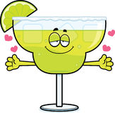Cartoon Margarita Hug Stock Photography