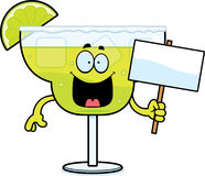 Cartoon Margarita Sign Stock Photo