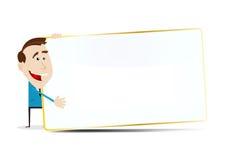 Cartoon Market vendor royalty free stock images