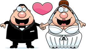 Cartoon Marriage Royalty Free Stock Photos