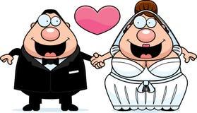 Cartoon Marriage Royalty Free Stock Photos