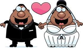 Cartoon Marriage Royalty Free Stock Photography
