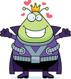 Cartoon Martian King Hug Royalty Free Stock Photos