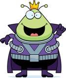Cartoon Martian King Idea Royalty Free Stock Photo