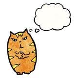 Cartoon mean cat Royalty Free Stock Image