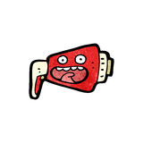 cartoon megaphone Royalty Free Stock Images