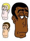 Cartoon men Stock Image