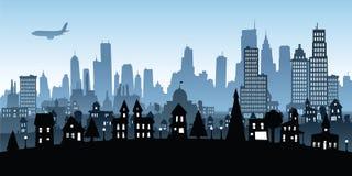 Cartoon Metropolis Royalty Free Stock Image