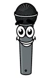 Cartoon microphone Stock Photography