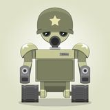 Military robot Royalty Free Stock Photo