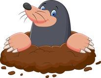 Free Cartoon Mole Gesturing Royalty Free Stock Photography - 53892887