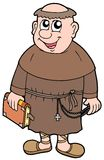 Cartoon monk Royalty Free Stock Photo