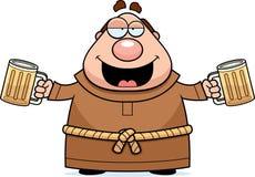 Free Cartoon Monk Beer Stock Images - 47714584