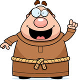 Cartoon Monk Idea Royalty Free Stock Images