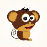 Cartoon Monkey. Cartoon of a cute monkey Royalty Free Stock Image