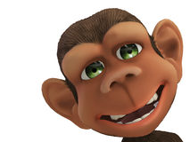 cartoon monkey Royalty Free Stock Photo