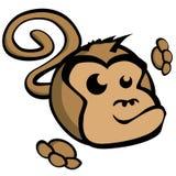 Cartoon Monkey Royalty Free Stock Photography
