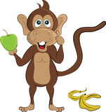 Cartoon Monkey Stock Photo