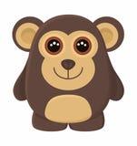Cartoon monkey Stock Photography