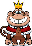 Cartoon Monkey King vector illustration