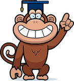 Cartoon Monkey Professor Stock Photos