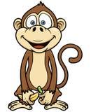 Cartoon monkey Royalty Free Stock Image