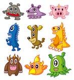 Cartoon Monster. Cute cartoon Monster,vector illustration Stock Image