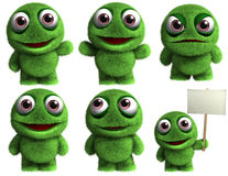 Cartoon monster Stock Photography