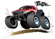 Free Cartoon Monster Buggy Royalty Free Stock Photography - 31045927