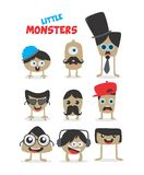 Cartoon monster character Royalty Free Stock Photo