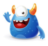 Cartoon Monster Stock Image