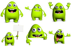 Cartoon monster Royalty Free Stock Photo